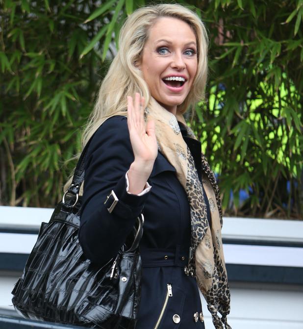 Josie Gibson outside the ITV Studios - 20 February 2014