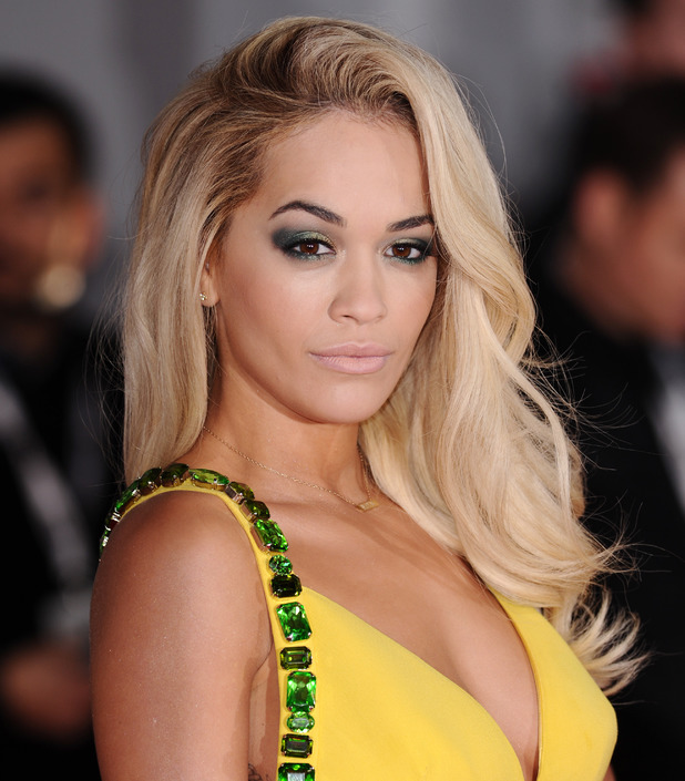 Rita Ora, The Brit Awards, Arrivals, O2 Arena, London, Britain - 19 Feb 2014