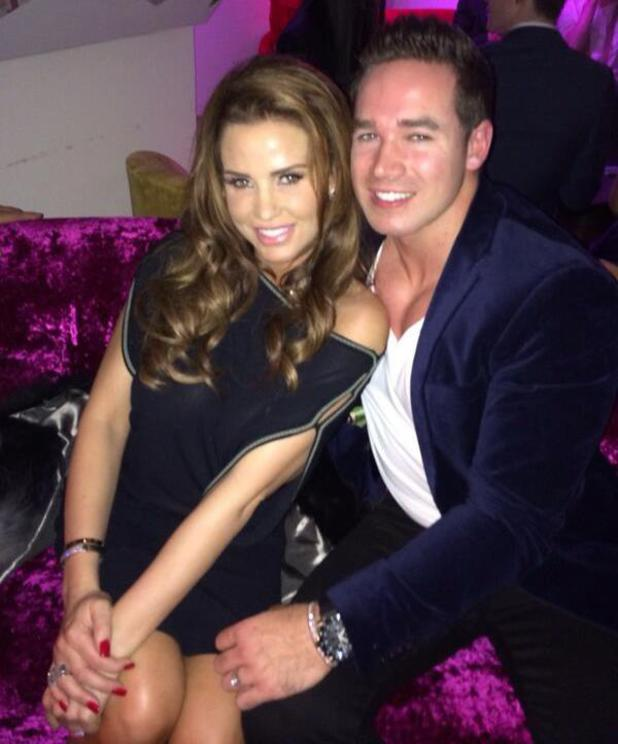 Katie Price and Kieran Hayler at Albert Kennedy Trust Winter Carnival - Feb 2014