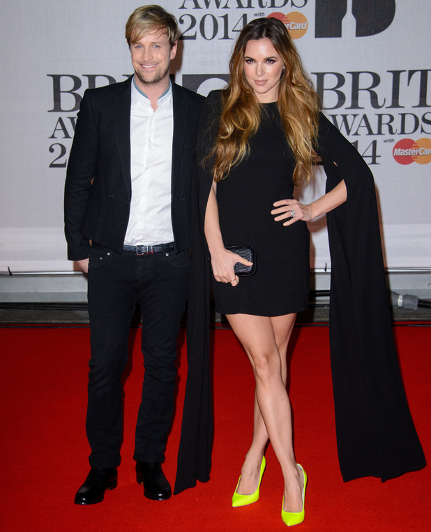 Kian Egan,Jodi Albert at Brit Awards 2014: 19 February 2014
