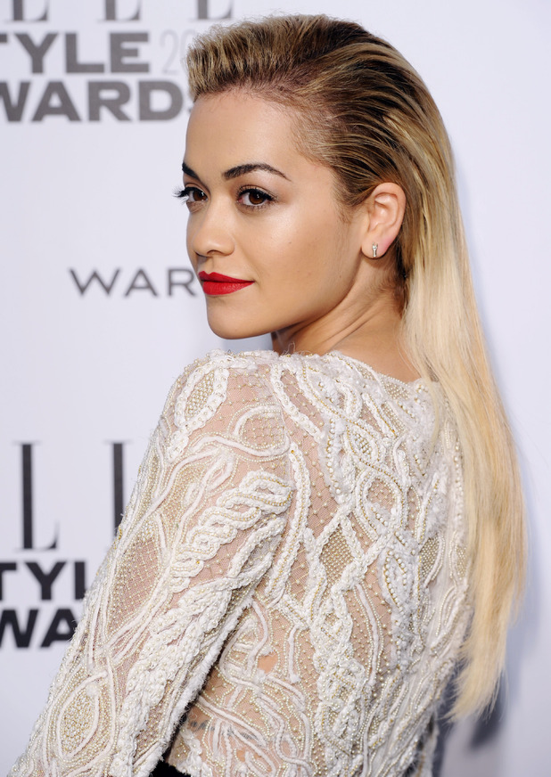 Rita Ora, Elle Style Awards, London, Britain - 18 Feb 2014
