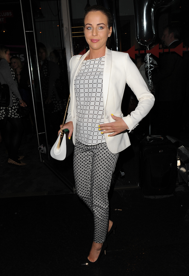 Lydia Bright attends the Storm Models Agency Party in London - 17 February 2014
