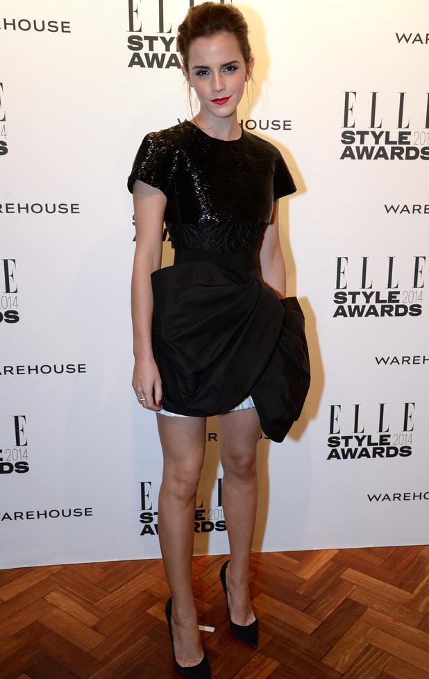 Emma Watson at the Elle Style Awards 2014