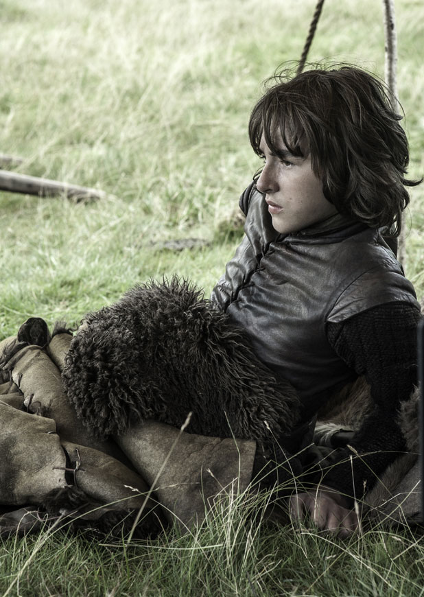 Bran Stark in Game of Throne, season three DVD released 17 February 2014