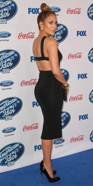 Jennifer Lopez American Idol 2014 Last Night Jennifer lopez at american