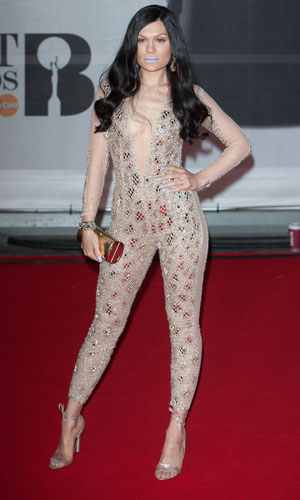 Jessie J at the Brit Awards 2014, 19 February 2014