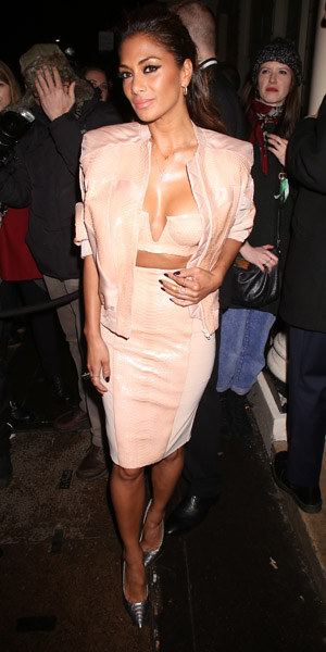 Nicole Scherzinger at Brit Awards Sony Music after party on 19 February 2014