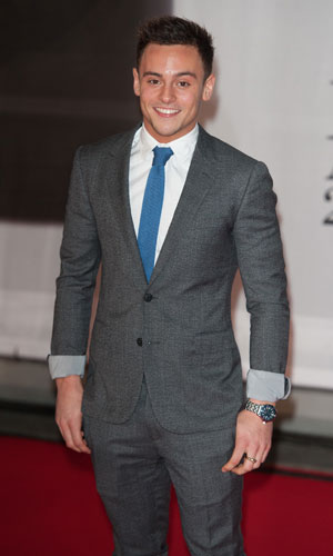 Tom Daley at the Brit Awards 2014, 19 February 2014