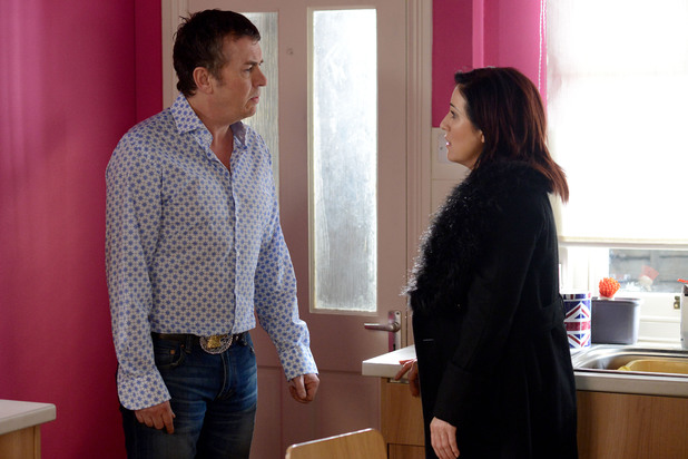 EastEnders, Kat angry with Alfie, Fri 28 Feb