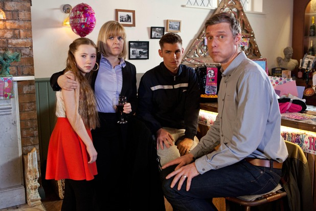 Hollyoaks, Peri's 14th birthday, Fri 28 Feb