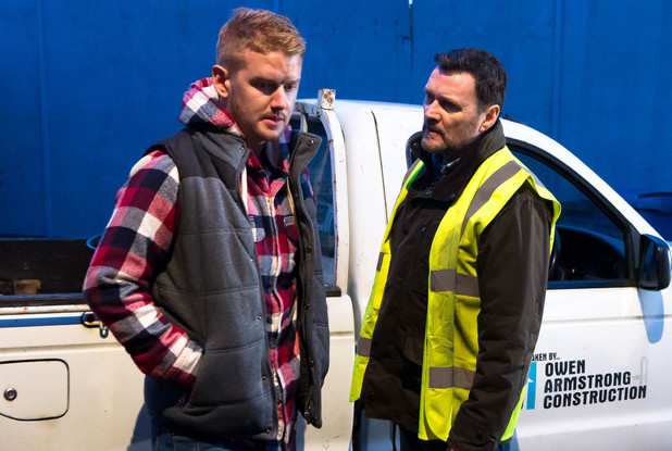 Corrie, Gary can't find Phelan's body, Fri 28 Feb