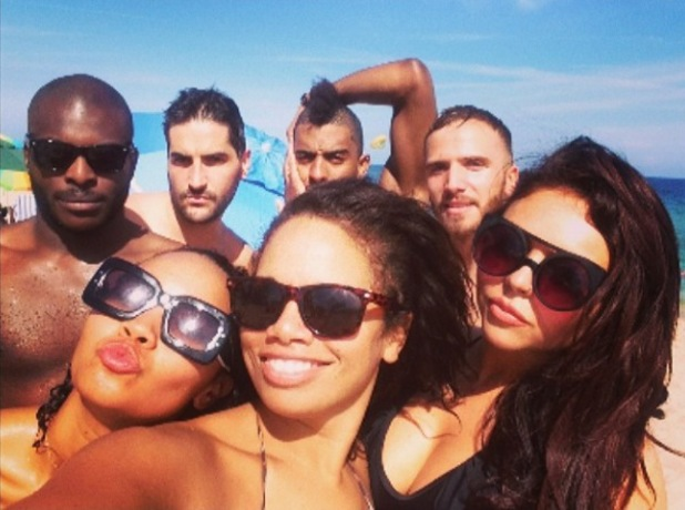 Little Mix - Jesy Nelson, Leigh-Anne Pinnock - in Florida on the beach - 24.2.2014