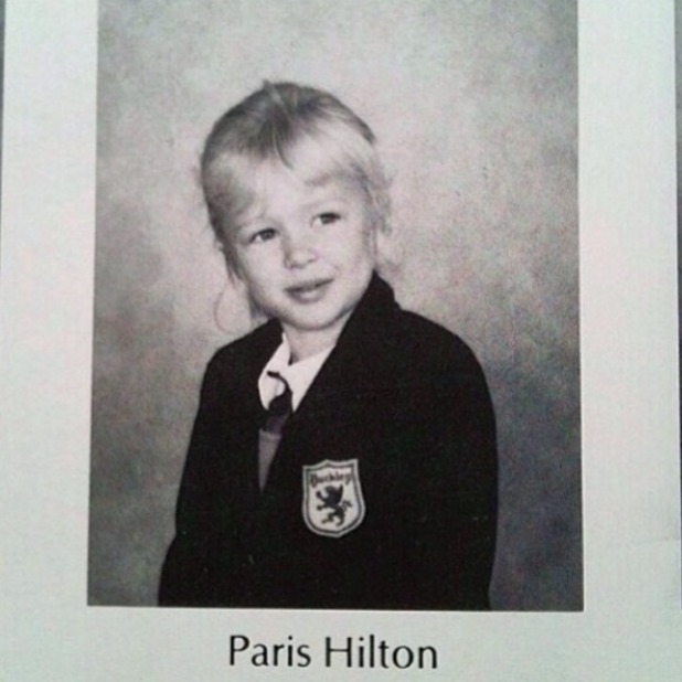 Paris Hilton shares flashback photo of her school days, 1 March 2014