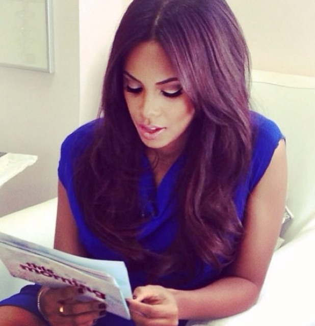Rochelle Humes shares new hair pic