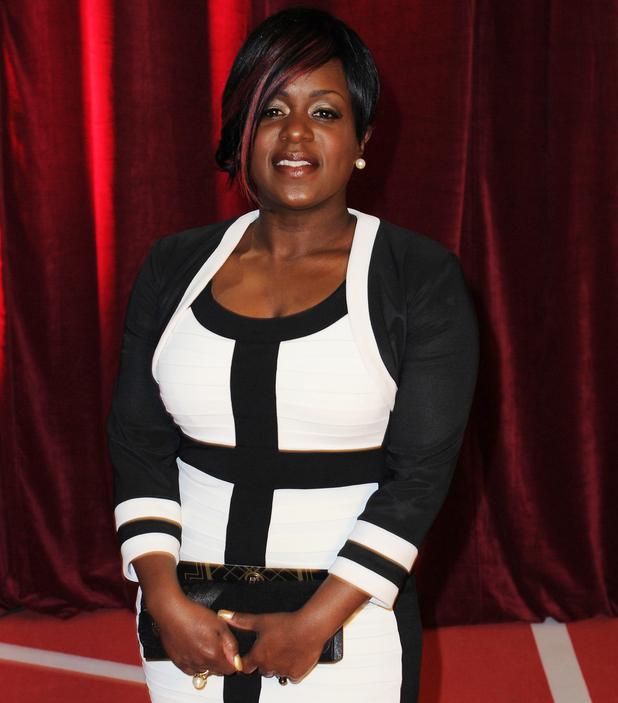 Tameka Empson - The British Soap Awards 2013 - Arrivals. 18 May 2014