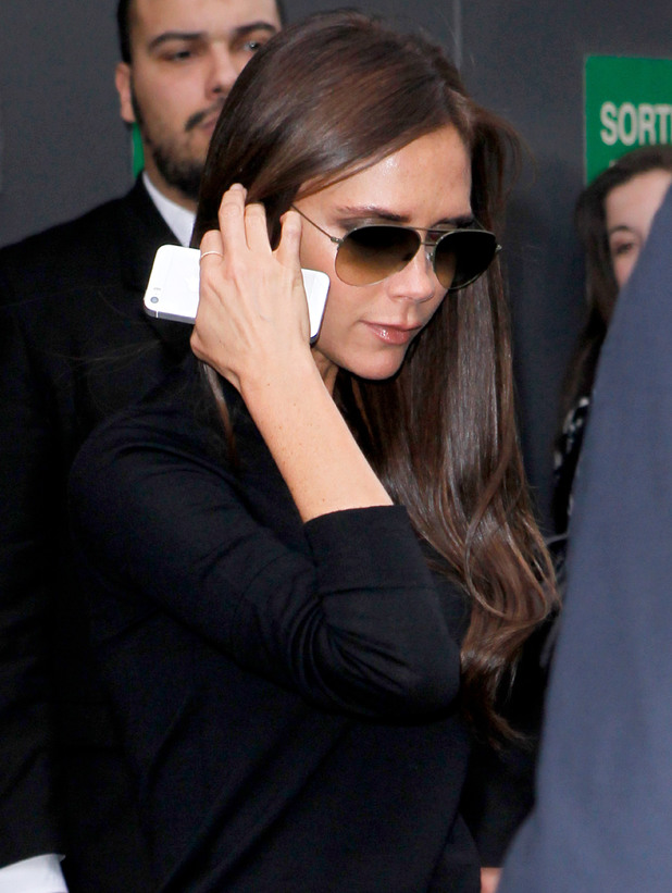 Victoria Beckham out and about, Paris, France - 28 Feb 2014