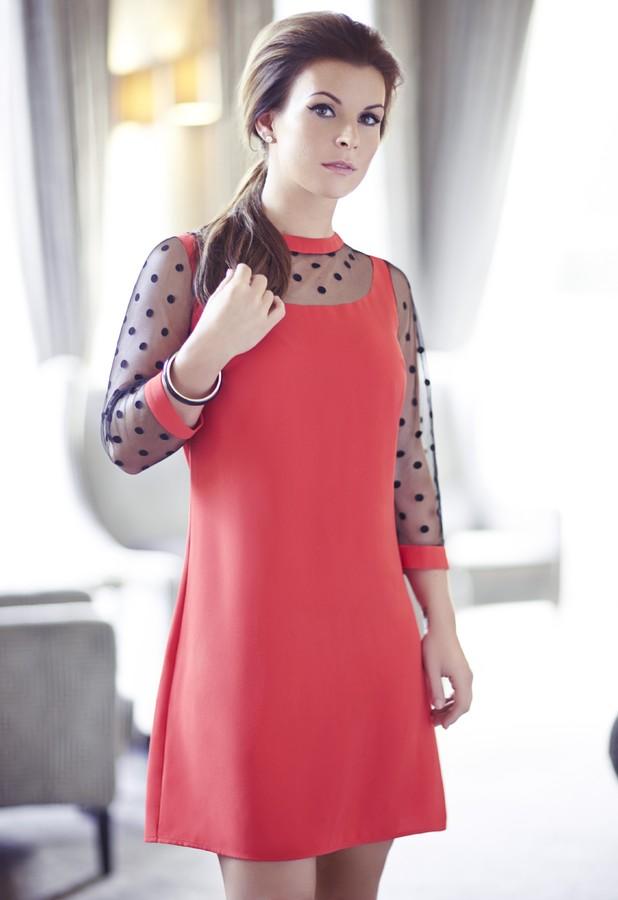 Coleen Rooney models her spring/summer 2014 collection for Littlewoods - 26 February 2014