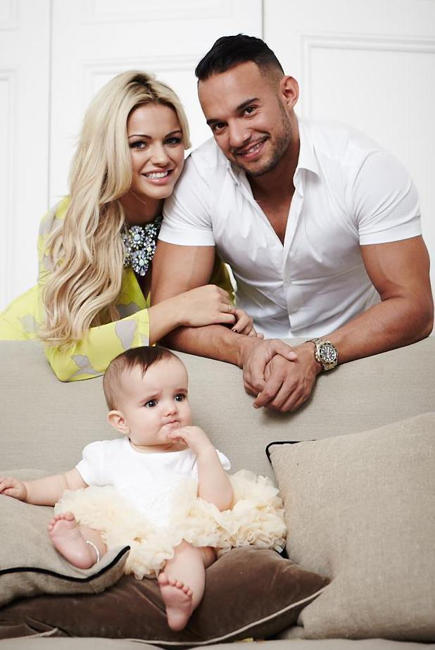 Shoot with Kenzie and his girlfriend and their little daughter Wynter - 25 Feb 2014