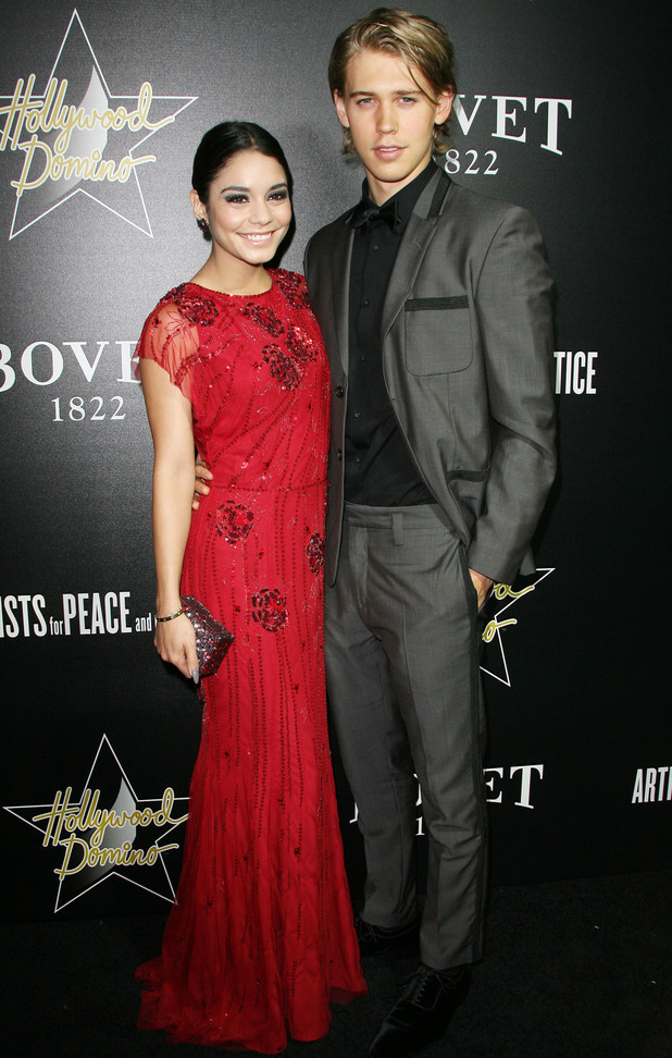 Vanessa Hudgens and Austin Butler the 7th Annual Hollywood Domino and Bovet Gala in Los Angeles, 27 February 2014