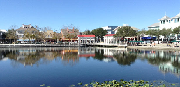 Celebration, Florida, taken 8 February 2014