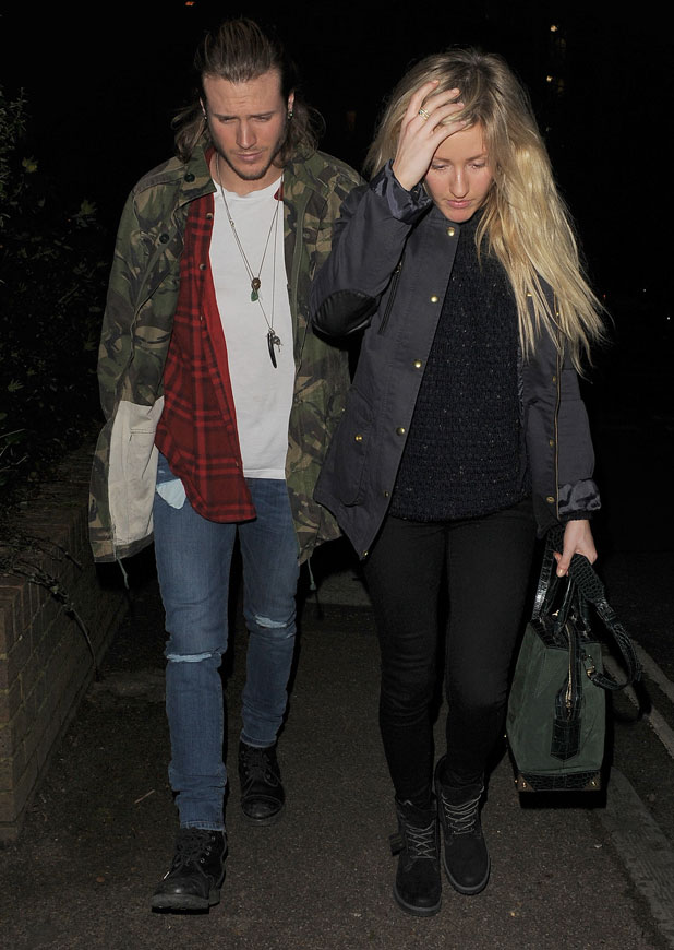 Ellie Goulding couple