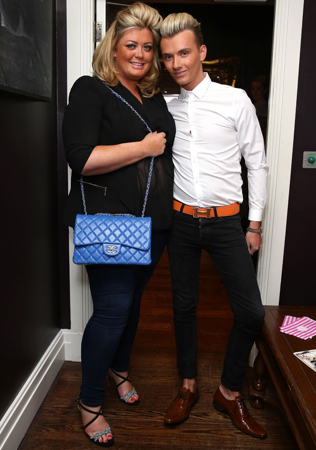 Gemma Collins, Total Mink Launch Party at the Sanctum Soho Hotel, London, 25 February 2014