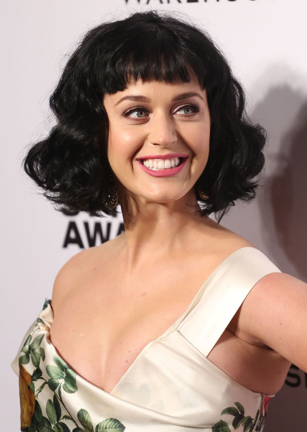 Katy Perry at Elle Style Awards 2014 held at One Embankment - Arrivals, 18 February 2014