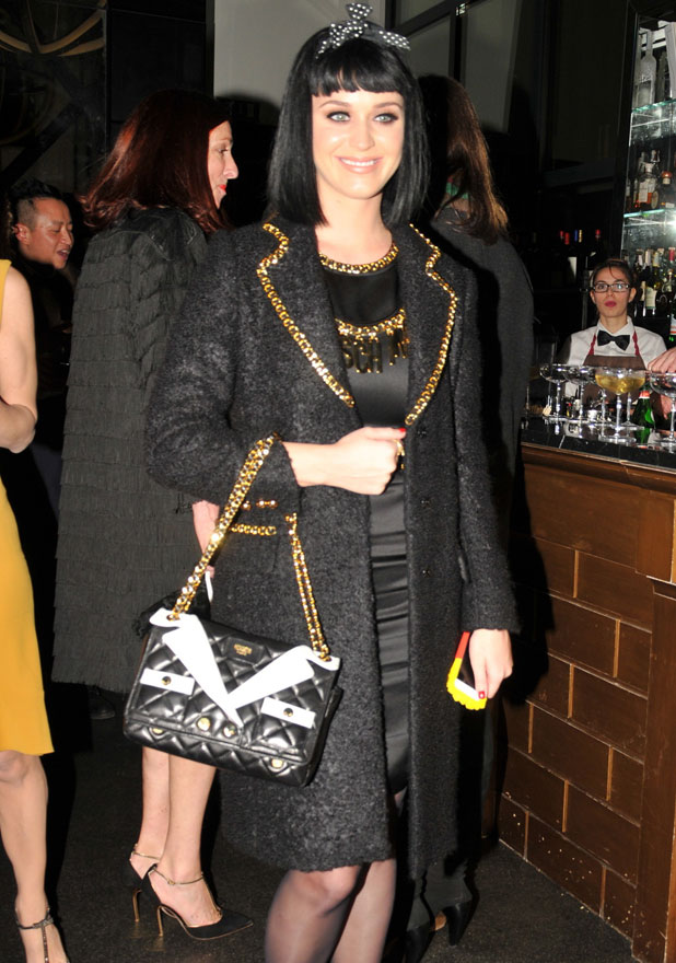 Katy Perry at the Milan Fashion Week Womenswear Autumn/Winter 2014 - Moschino - Afterparty, 20 February 2014