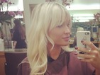 Pregnant Billie Faiers gets long blonde hair extensions - photo!