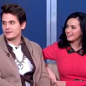 Real-life couple John Mayer and Katy Perry sit down for their first interview together on ABC's GMA (December 2013)