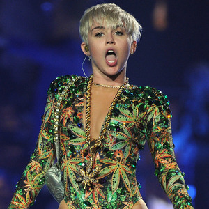 Miley Cyrus 'Bangerz Tour' concert, Las Vegas, America - 01 Mar 2014