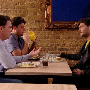 TOWIE: Tom Pearce, James 'Arg' Argent and James 'Diags' Bennewith talk about Fran. Episode aired: (5 March 2014).