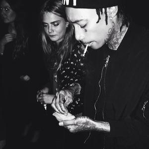 Wiz Khalifa and Cara Delevingne in Paris, France - 4.3.2014