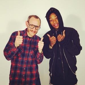 Wiz Khalifa and Terry Richardson in Paris, France - 4.3.2014