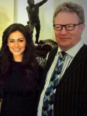 CBB's Casey Batchelor catches up with Jim Davidson and his wife Michelle - 5 March 2014