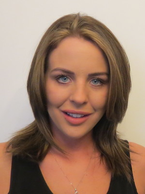 Lydia Bright before new spring hair do