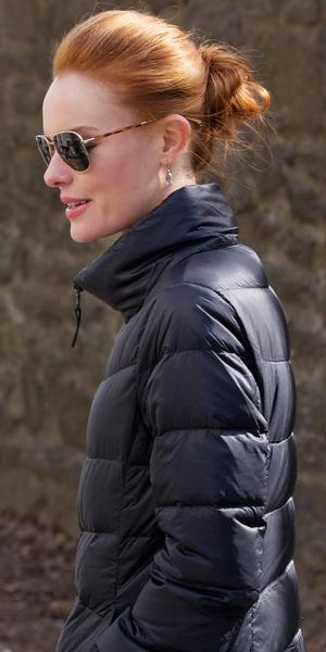 Kate Bosworth films scenes for her new movie Still Alice in Manhattan, New York - 4 March 2014