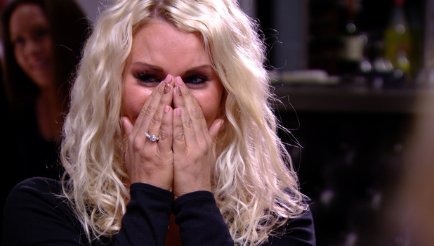 Danielle Armstrong in tears in TOWIE, 9 March 2014
