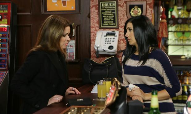 Corrie, Carla pregnant?, Mon 10 Mar