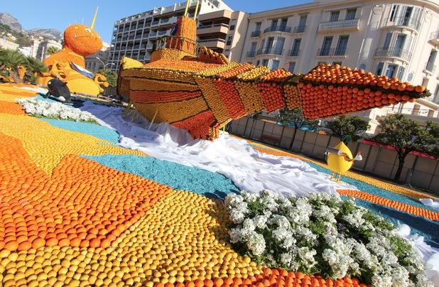 Fête du Citron sculptures