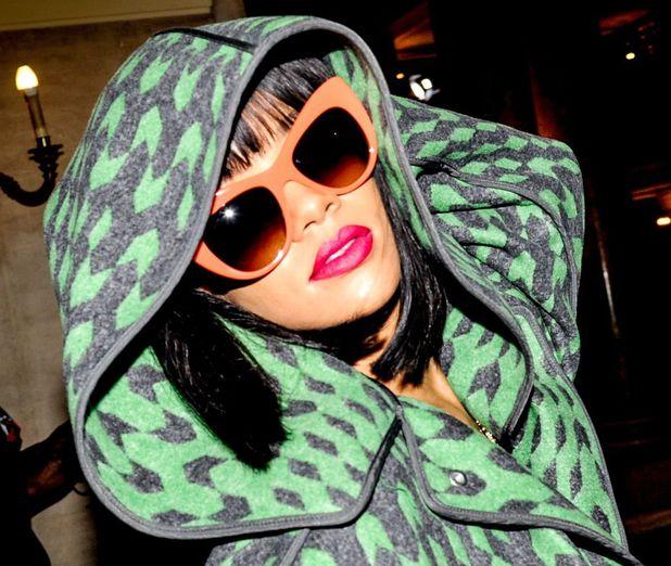 Rihanna at Stella McCartney, PFW