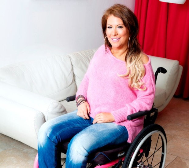 Lolly Mack, paralysed in a club accident