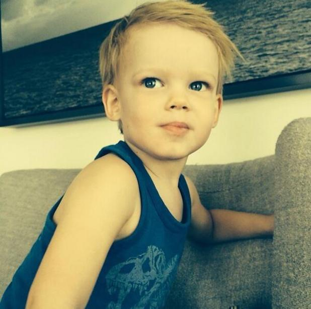 Hilary Duff shares new photo of almost two-year-old son Luca - 3.3.2014