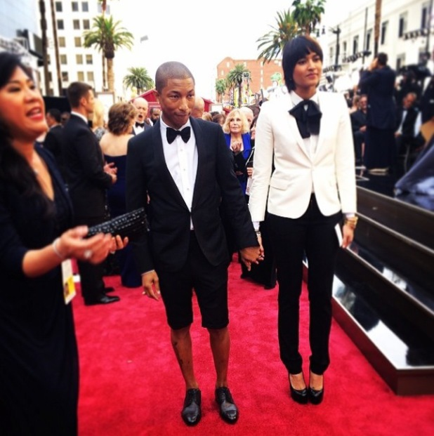86th Annual Academy Awards Oscars, Los Angeles, America - 02 Mar 2014 Pharrell Williams
