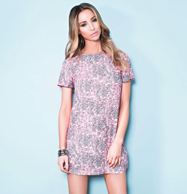 Lauren Pope models her new collection for inthestyle.co.uk - March 2014