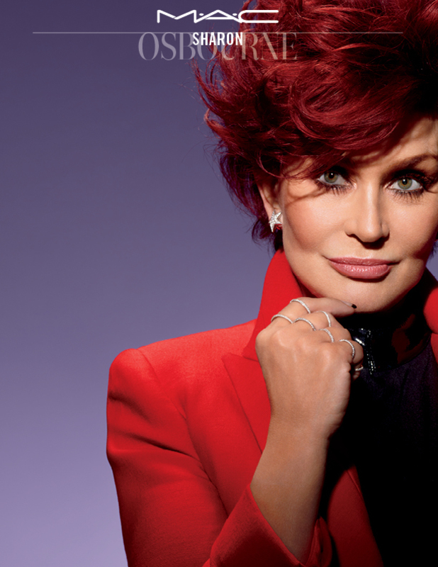 Sharon Osbourne's campaign image for MAC Cosmetics - 2014