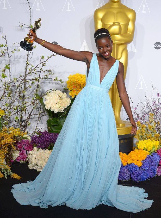 Lupita Nyong'o, 86th Annual Academy Awards Oscars, Press Office, Los Angeles, America - 02 Mar 2014