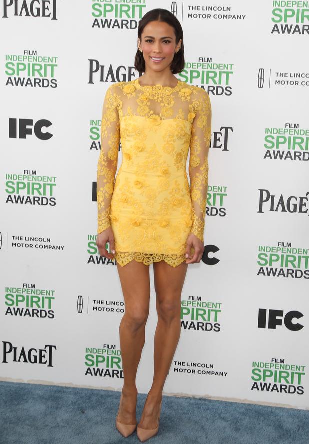 2014 Film Independent Spirit Awards, Los Angeles, America - 01 Mar 2014 Paula Patton