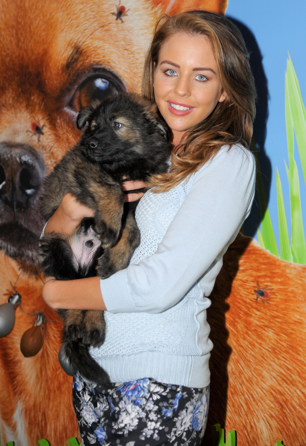 Lydia Bright - Crufts Dog Show, NEC Birmingham, Britain - 7 March 2014