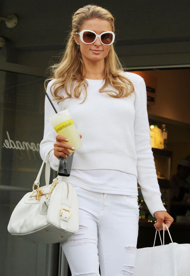 Paris Hilton heads to Lemonade in Los Angeles, America - 4 March 2014